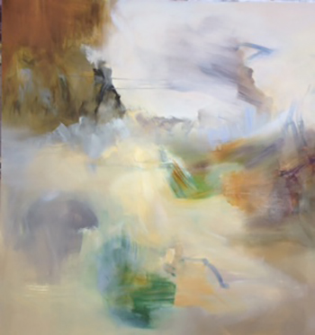 Buzkashi • Oil on Canvas • 60x60